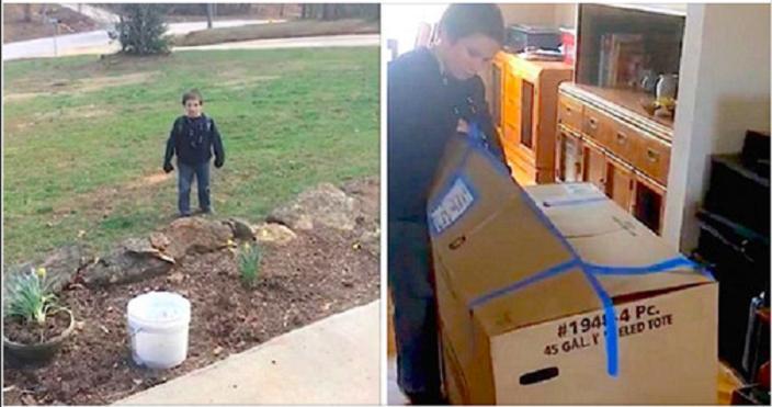 Старший брат прислал младшему огромную посылку. Чтобы ее занести, понадобилось 2 грузчика