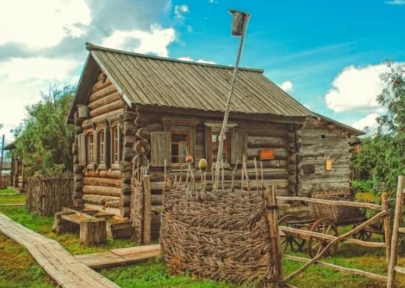 Русская изба. Самый мудрый дом для выживания.