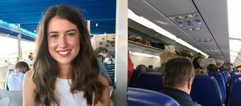 Пассажирку попросили покинуть самолет, но она не нарушала никаких правил. Девушка просто предупредила, что у нее аллергия на орехи
