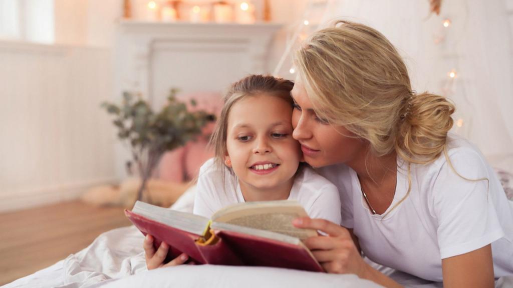 Мама, почитай мне книжку : развитие фантазии у детей и другие положительные стороны книжек