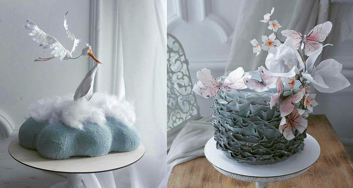 Сказочные торты, которые выглядят словно произведения искусства