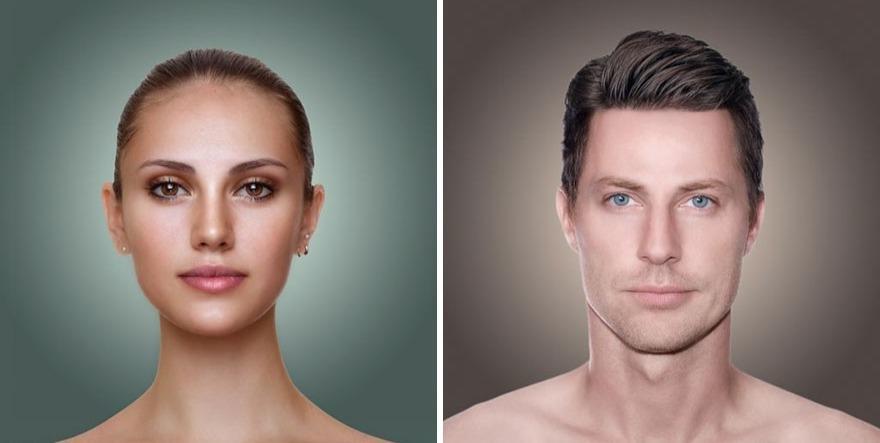 Дизайнеров попросили показать, какой тип внешности в моде в их стране. Русский получился