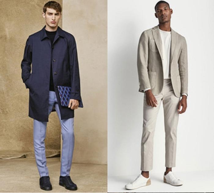 Вертикальная полоска и тропический принт: собираем модный мужской гардероб