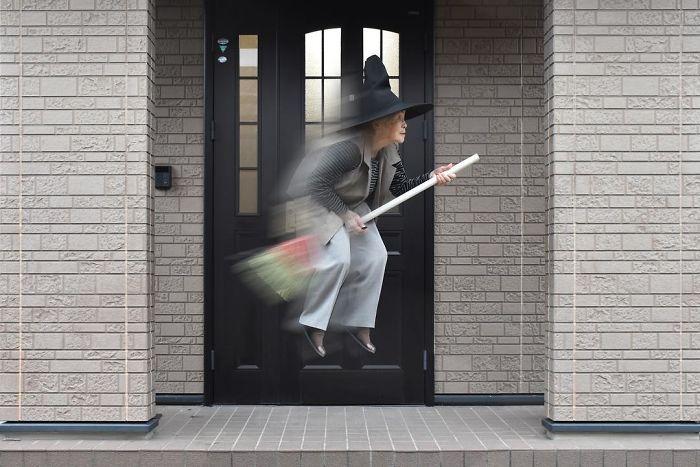 90-летняя японка публикует футуристические фото в своем популярном блоге