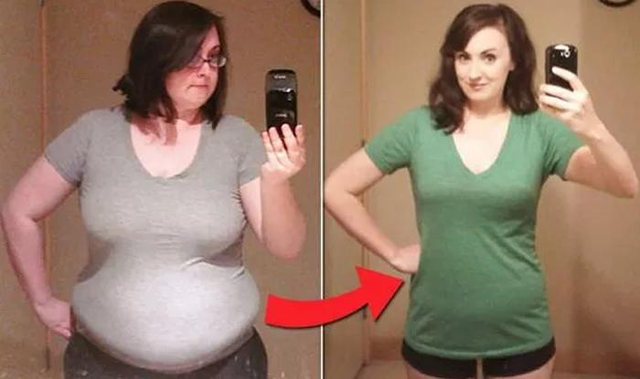 «Кушать меньше 1400 калорий и выполнять 20 отжиманий»: девушка похудела почти на 40 кг, придерживаясь этих правил