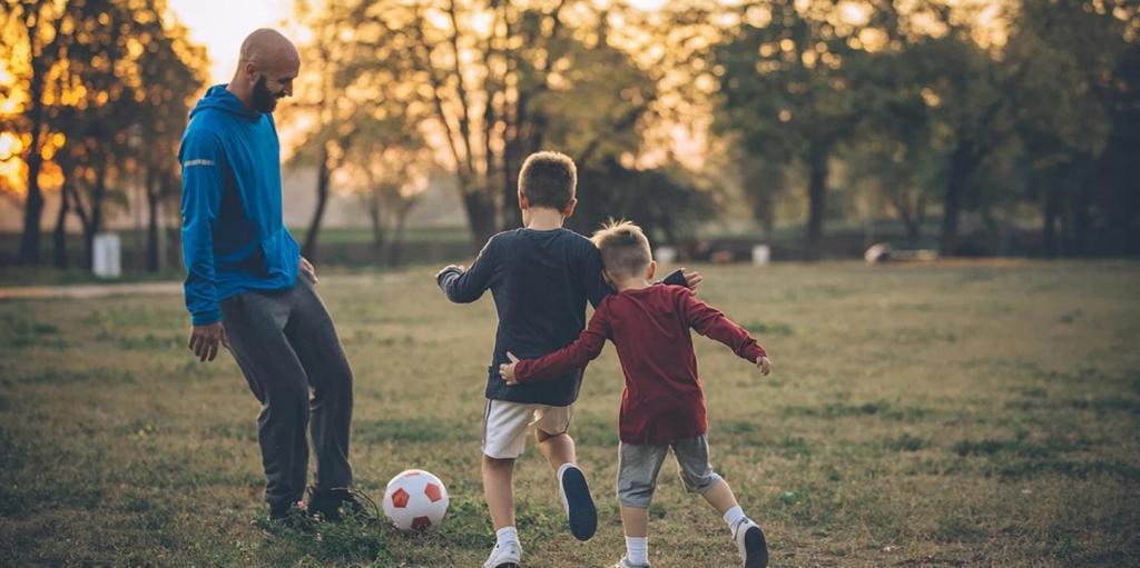 Посетить с ребенком магазин спортивных товаров: как привить ребенку любовь к спорту