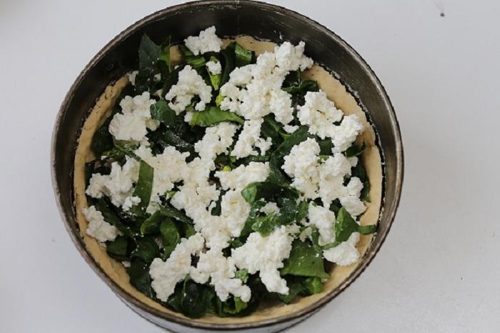 Пирог - просто объедение: готовим киш со скумбрией и шпинатом. Давно не ела такой вкуснятины