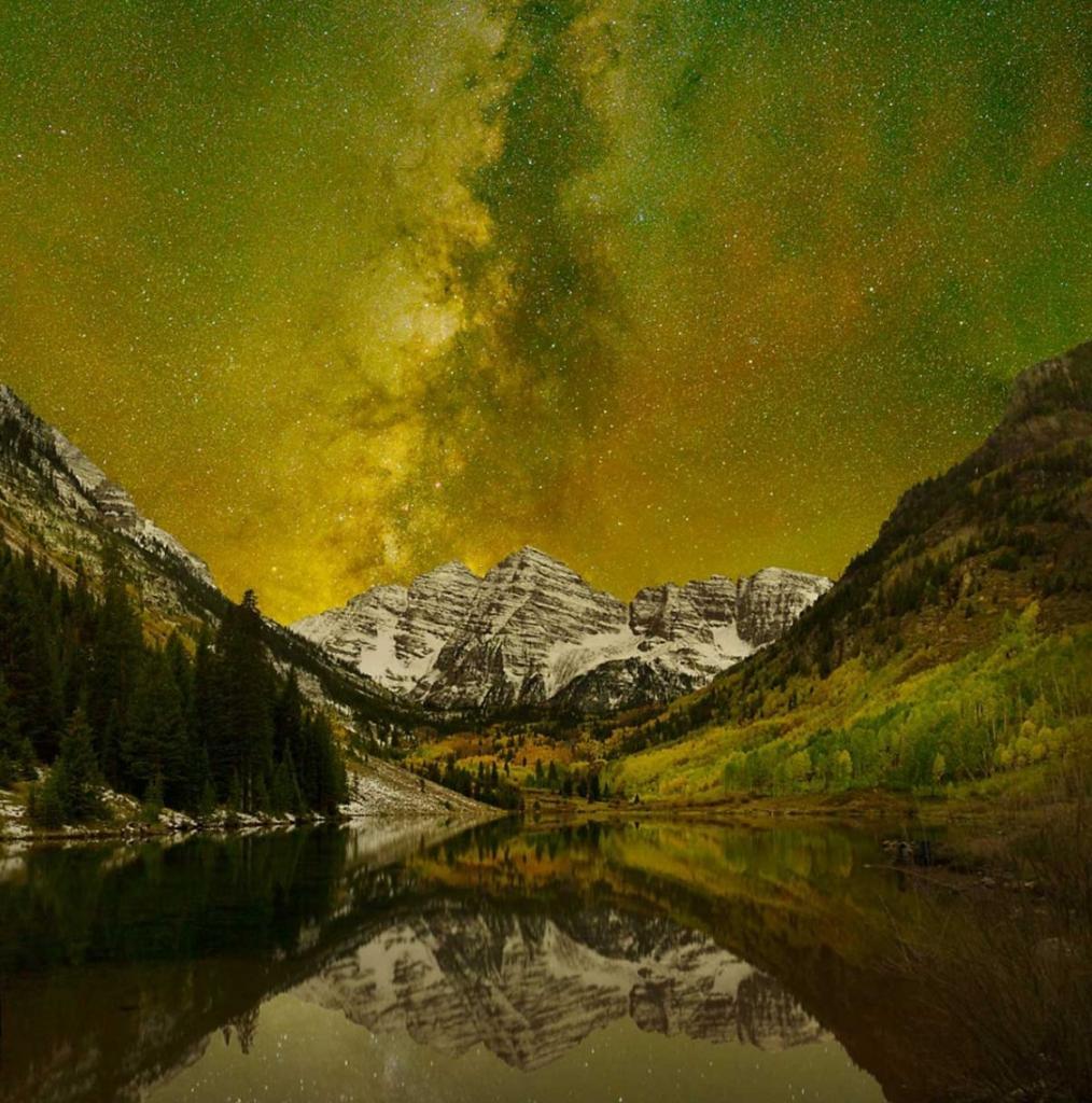 Реальные фотографии, вид на которых настолько прекрасен, что кажется, будто это фотошоп