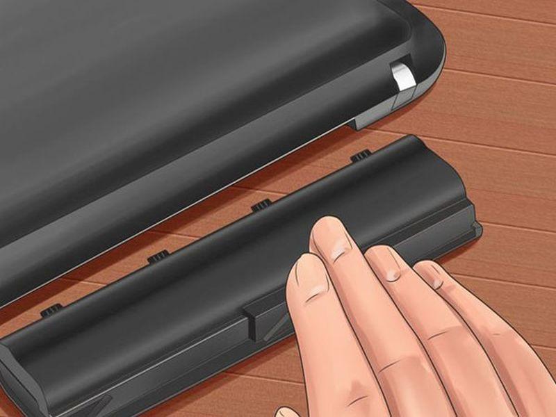 Не покупайте новую батарею для ноутбука, если старая неисправна. Существует способ заставить ее работать снова