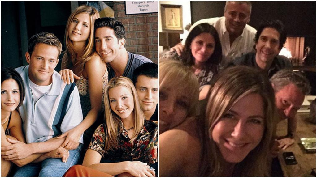 Дженнифер Энистон зарегистрировалась в соцсетях: первая ее публикация с  Друзьями  собрала миллионы лайков и комментариев