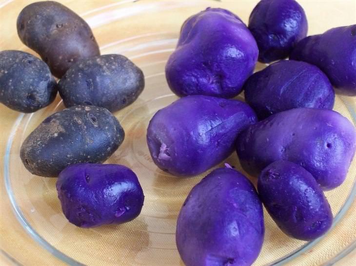 Фиолетовый картофель, синяя пчела: наш мир полон удивительных вещей и явлений