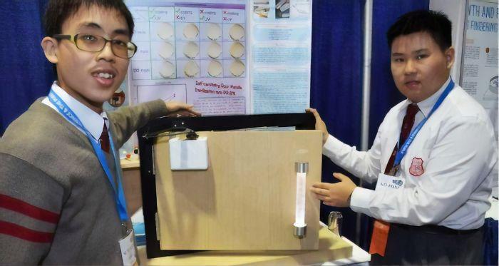 Китайские студенты изобрели дверную ручку, которая уничтожает бактерии