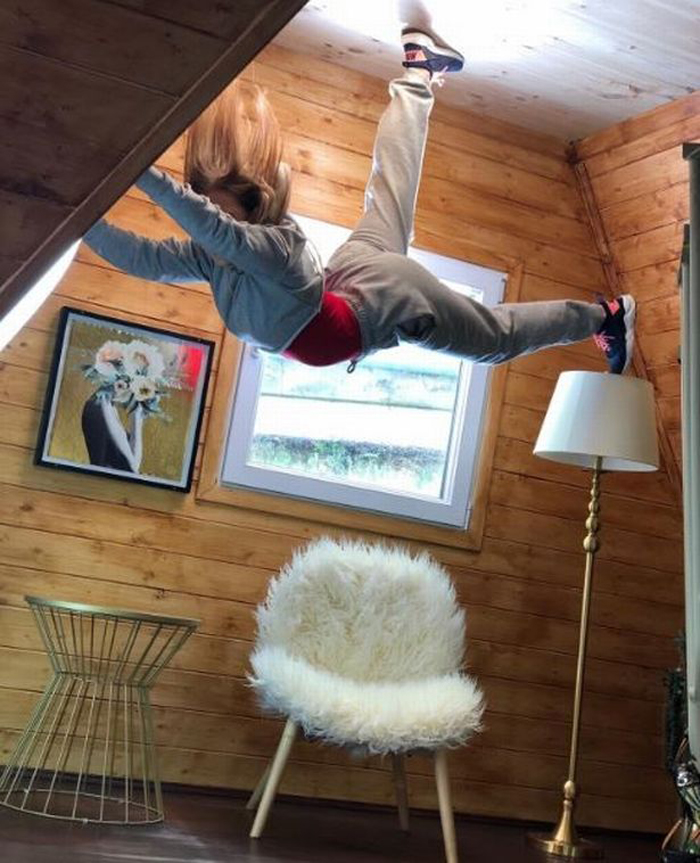 Перевернутый дом: фантастический аттракцион в центре Манчестера изменяет сознание