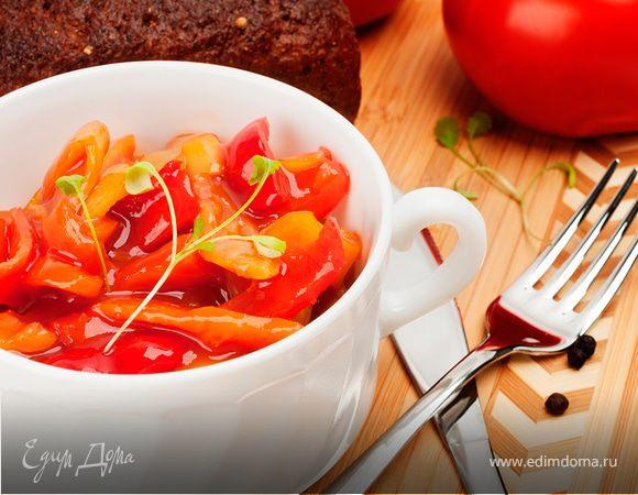 Вкусная заготовка на зиму — сладкий перец «Фирменный». Ничего не варим и не жарим!