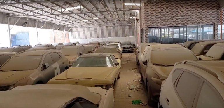 Кладбище суперкаров: где собирают пыль заброшенные Феррари, Бентли и Роллс-Ройсы