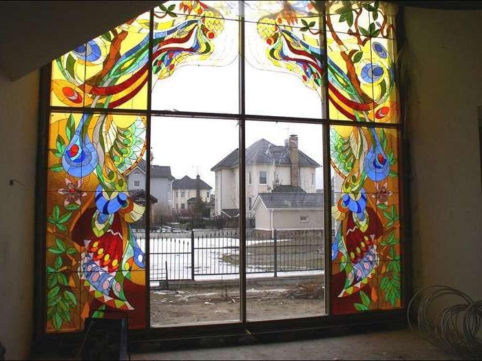 Я всегда считала, что сделать витражные окна очень дорого, но оказалось, что это стоит сущие копейки