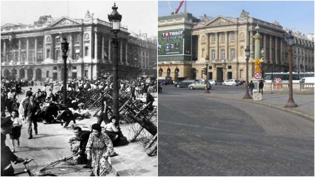 Восставшая из пепла: сравнительные фотографии Европы времен Второй мировой войны и сегодня (до и после)