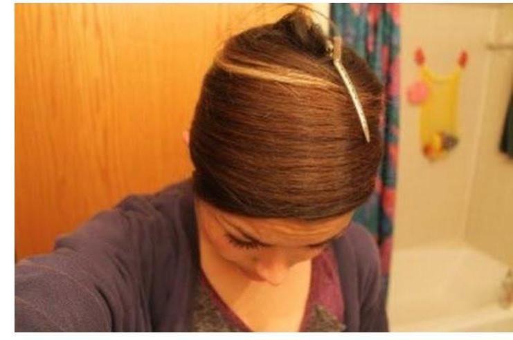 Как убрать залом на волосах
