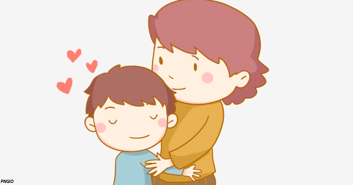 Чем чаще детей обнимают, тем более развитый мозг они имеют