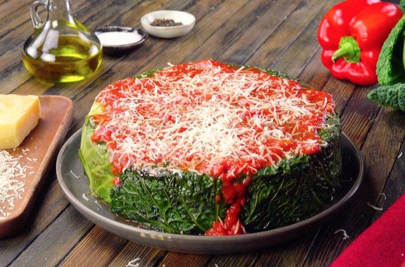 Рецепт капустного пирога с рисом и мясом, или Как я оригинально подала ленивые голубцы