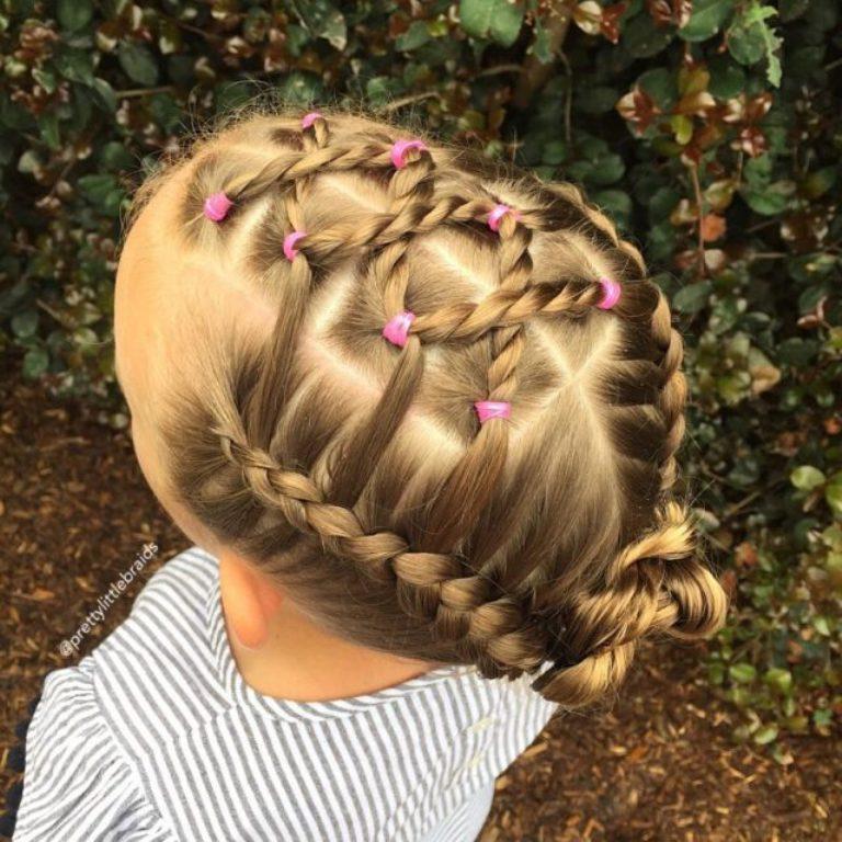 Плетение датских кос в картинках