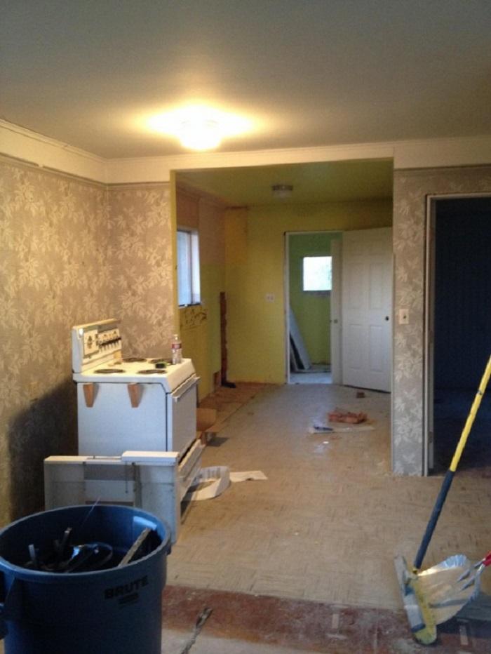 Дом в США, 30 лет простоявший без ремонта, наконец-то преобразился. Спасибо новой хозяйке