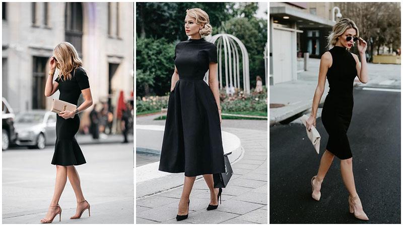 Одеться Шахерезадой легко, подобрать маленькое черное платье трудно . Как выбрать идеальное черное платье для вашей фигуры