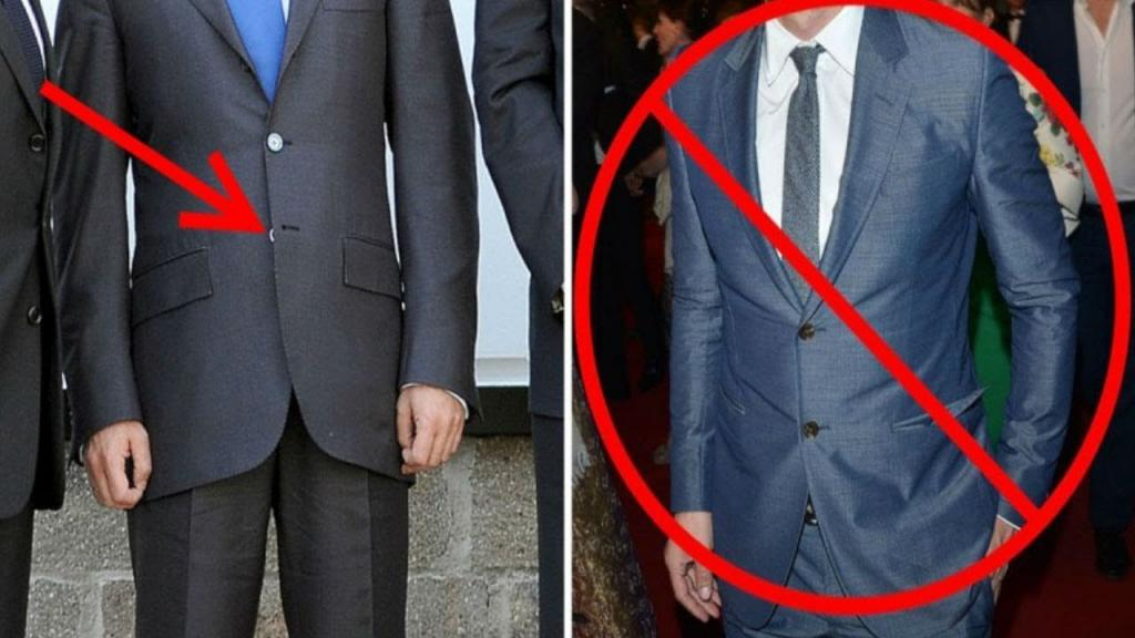 Все знают, что нижнюю пуговицу на пиджаке застегивать не принято: откуда взялось это странное правило