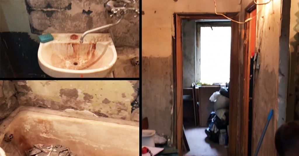Соседи помогли матери одиночке вернуть дочь: они собственноручно отремонтировали ее квартиру в ужасном состоянии (видео)
