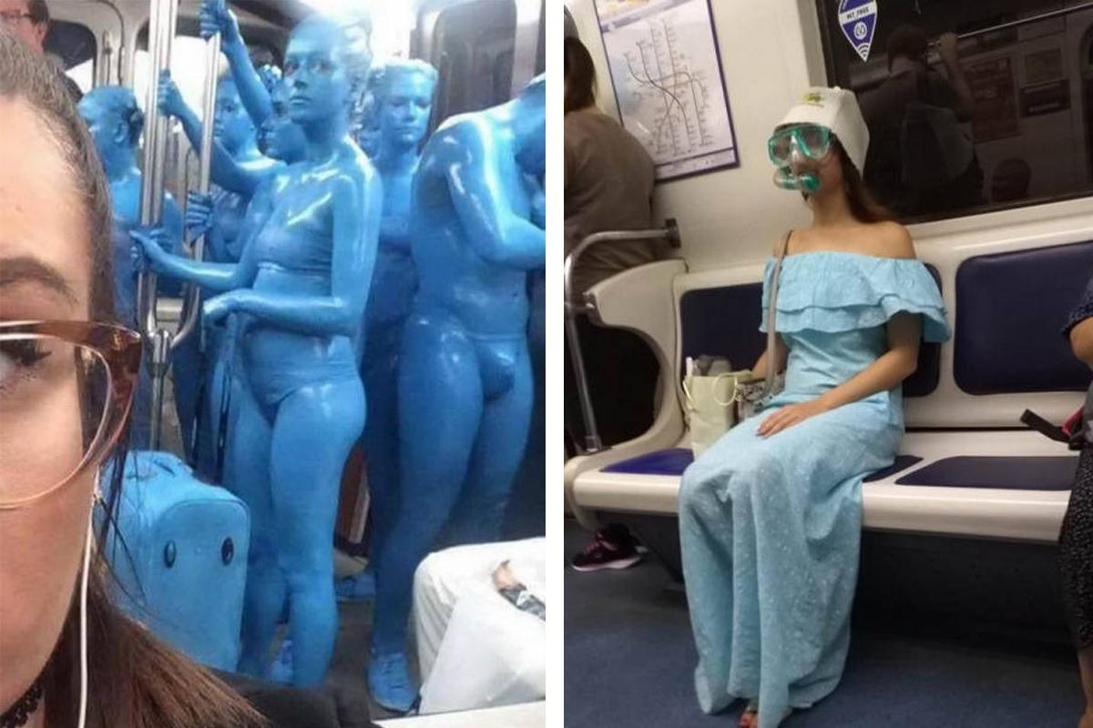 10+ чудаков из метро, которые подняли настроение своим попутчикам