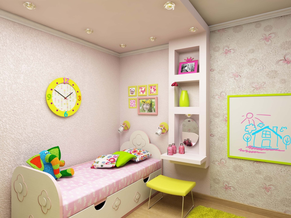 Знакомый дизайнер рассказал, как подобрать детскую мебель для маленькой комнаты