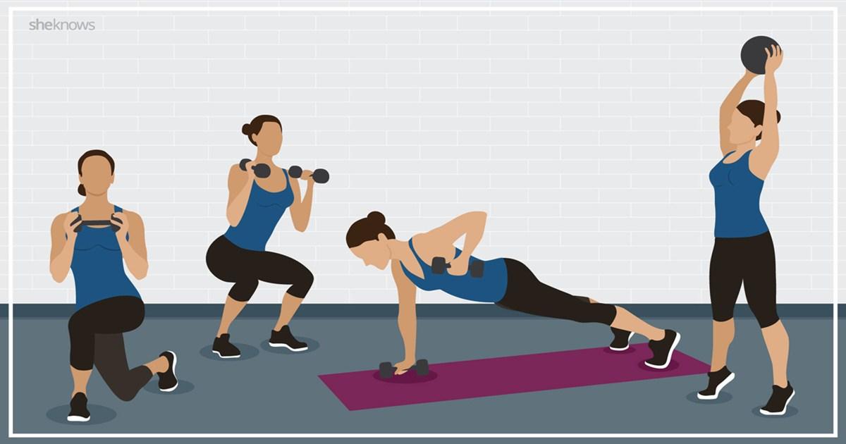 7 простых упражнений на дому, которые дадут первый результат через 4 недели