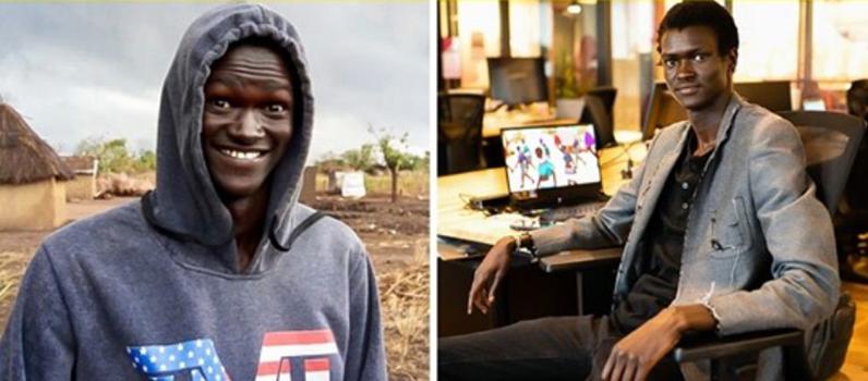 Парень родился в лагере беженцев, а теперь пишет видеоигры, которые пропагандируют мир вместо насилия