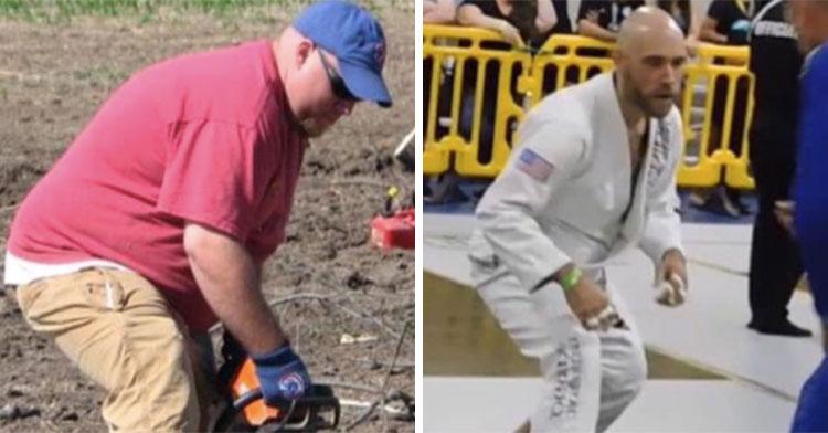 Полный мужчина смог скинуть 70 кг, и это преображение изменило его до неузнаваемости (фото)