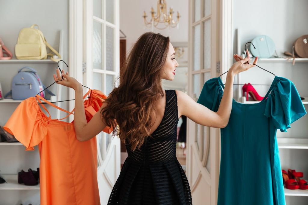 В бутике мерила платье и наслаждалась тем, как оно меня стройнит. Большой обман магазина я раскусила, когда надевала его на работу и поняла, что выгляжу в нем полной