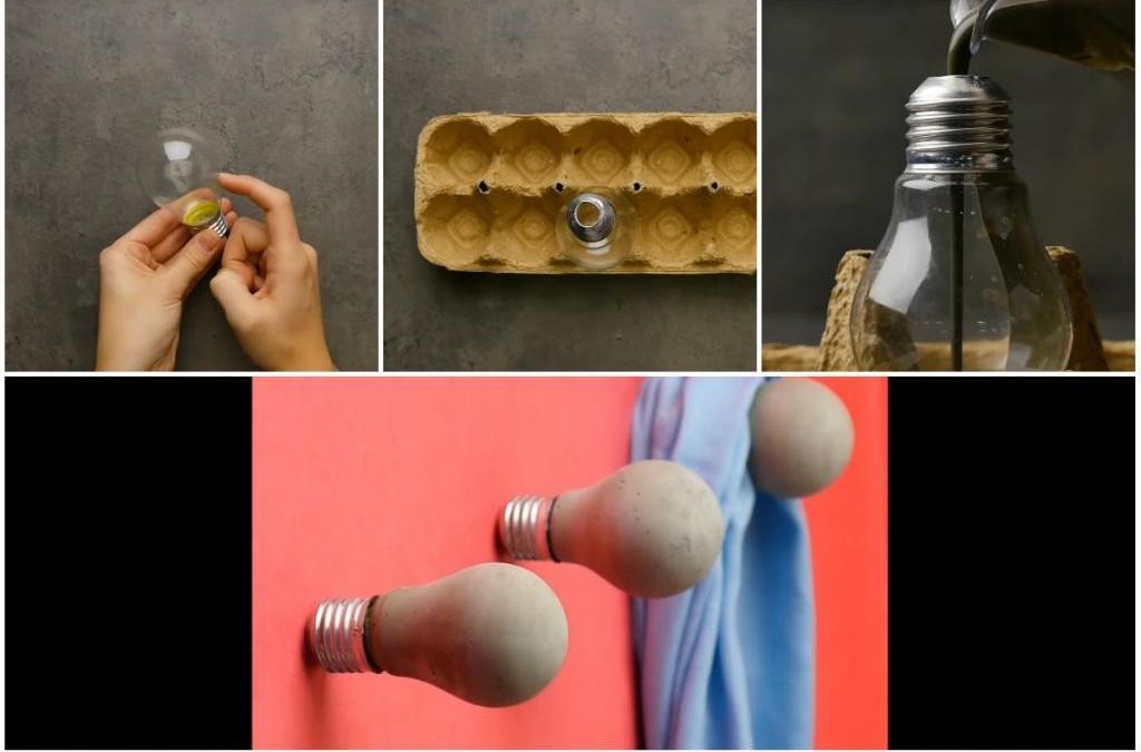 Коллега по работе делает полезные и красивые вещи для дома, используя фантазию и цемент