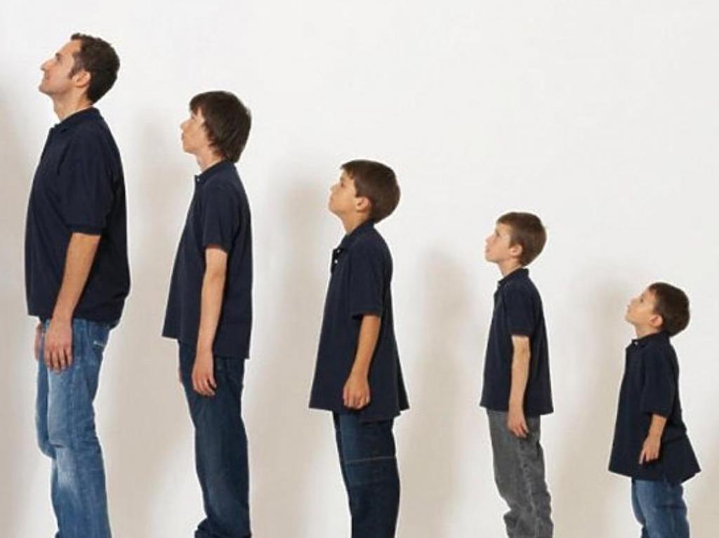 можно фото взросления человека люди маленьких