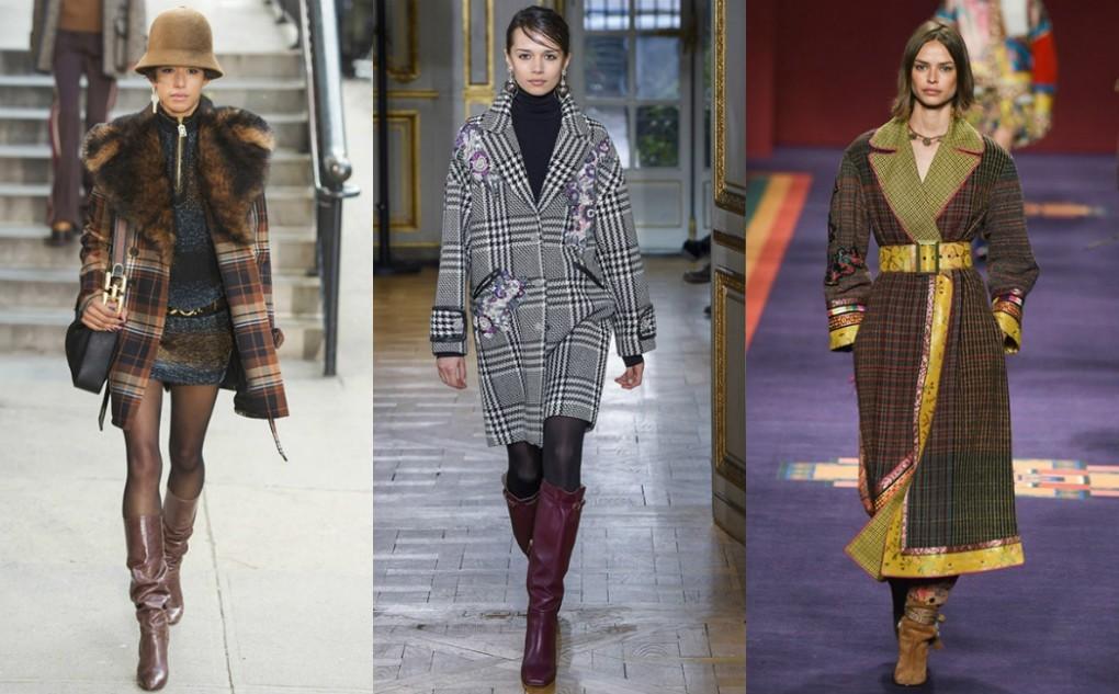 Пальто в клетку - главный тренд 2020 года: мнение экспертов мира моды
