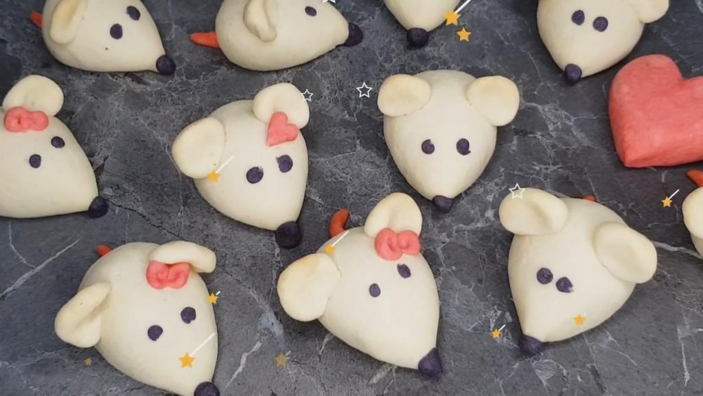 Мышка на новогоднем столе   к счастью! Мастер класс по изготовлению вкуснейшего песочного печенья (видео)