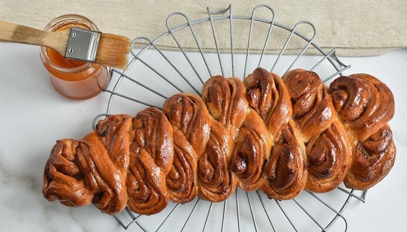 Рецепт приготовления шведского хлеба с корицей. Вкусно, полезно и очень сытно