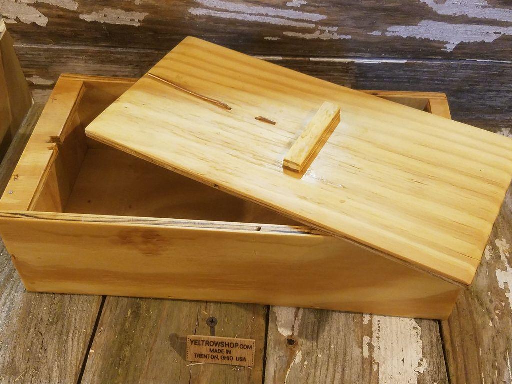 Ящик с интересным механизмом: делаем японскую деревянную коробку для хранения вещей