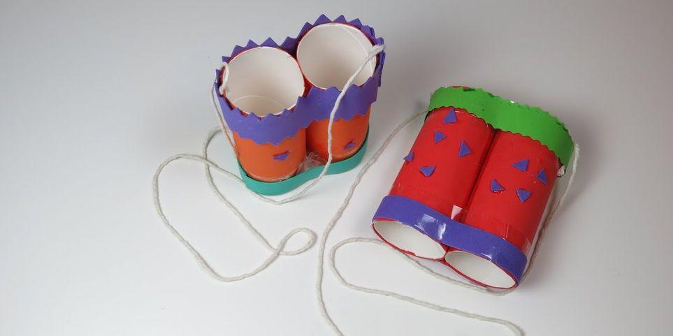 Рулоны от туалетной бумаги и ложки: какие предметы домашнего обихода можно использовать как игрушки
