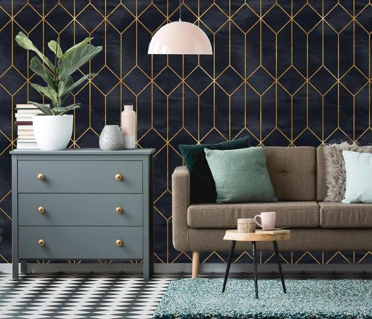 Модные животные принты и высоконтрастная цветовая палитра: как добавить немного стиля ар-деко в интерьер своего дома