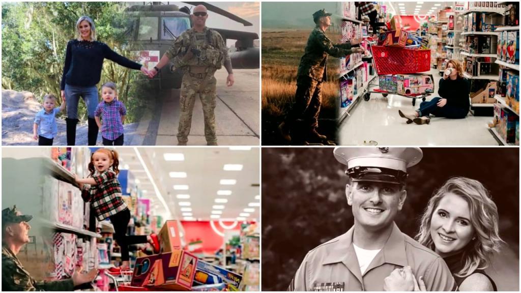 «Нас разделяют километры, но мы близки»: жены военных удивили мужей креативными рождественскими открытками