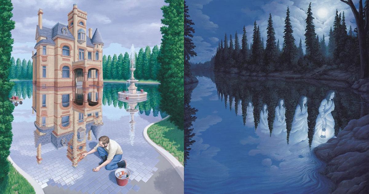 Картины художника, чьи парадоксы стучат вам прямо в душу
