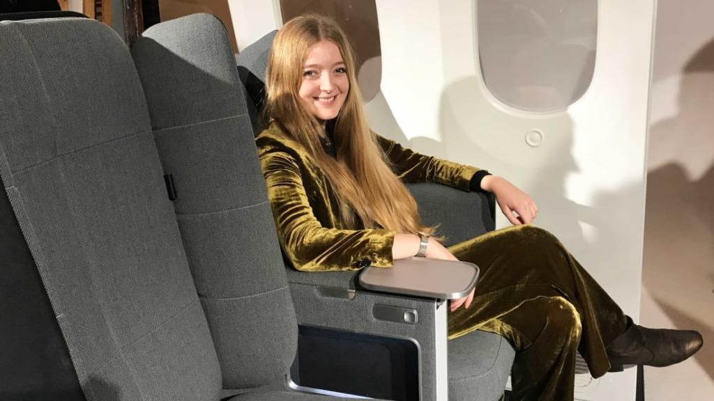 Дизайнер разработал сидения для самолетов в экономклассе, чтобы пассажирам было более комфортно летать