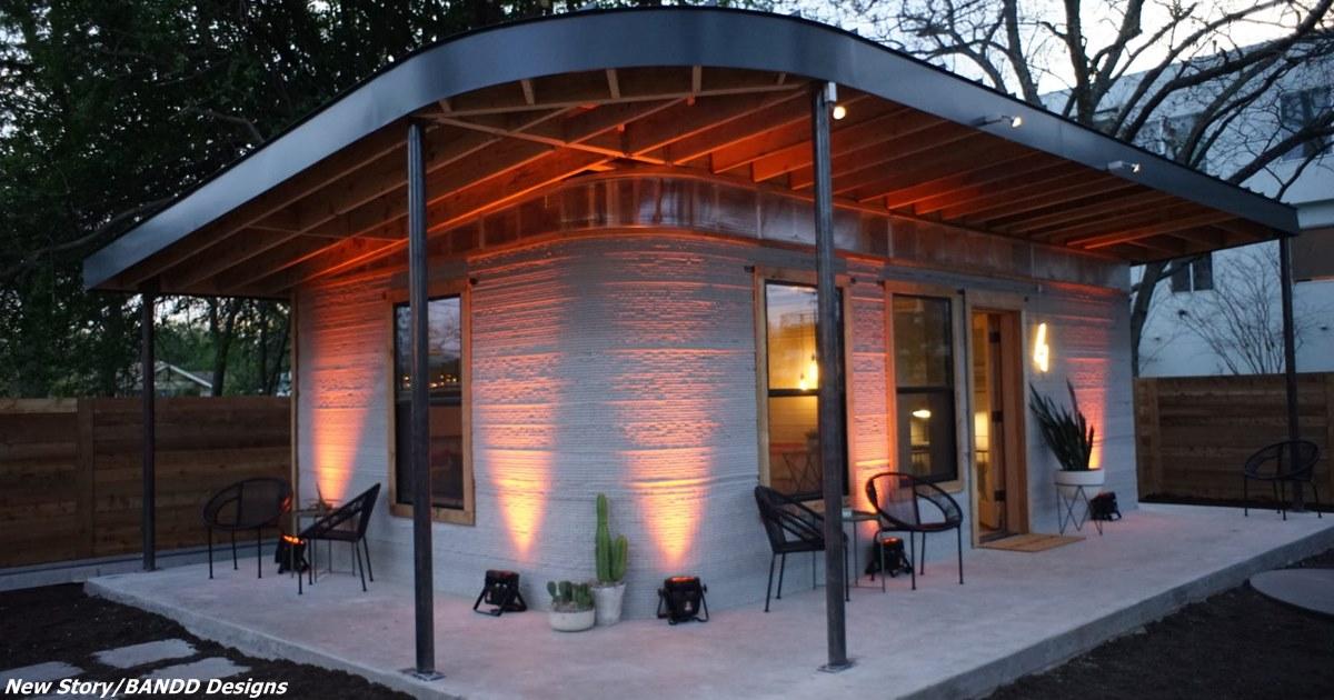 Встречайте: дома за USD4000, которые можно построить за 24 часа