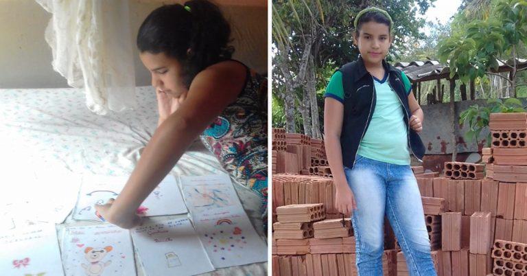 11-летняя Рита вручную писала книги, чтобы их продать и помочь семье. Но ее история приняла неожиданный поворот