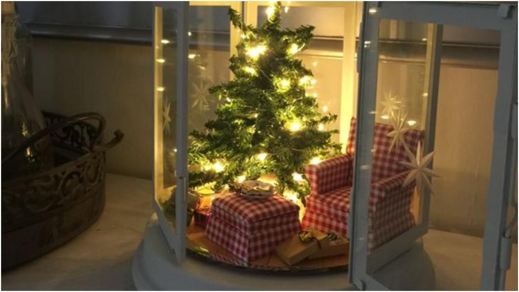 Модный тренд декора в декабре: фонарики с веселыми лампочками (идеи для вдохновения)