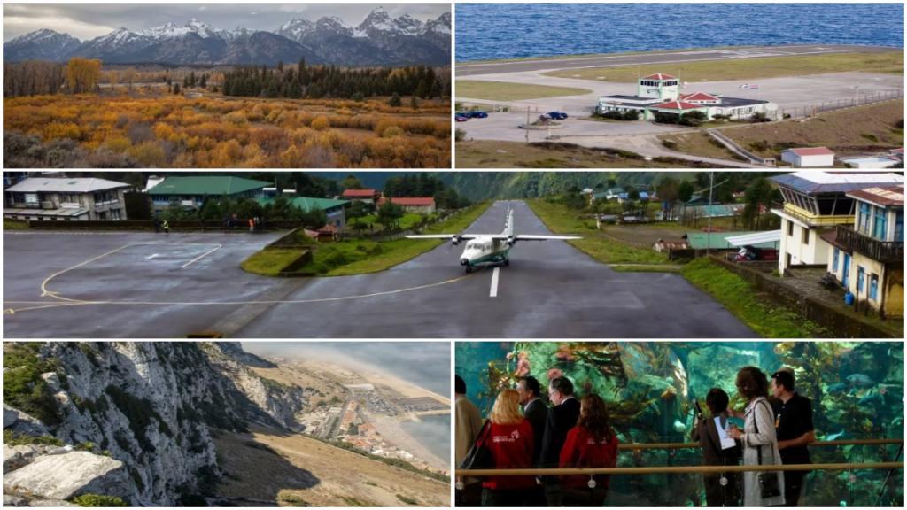 Джексон Хоул, Тенцинг Хиллари: 9 фантастических аэропортов мира, где можно получить удовольствие от задержки рейса
